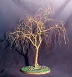 Sal Villano Wire Tree Sculpture - Winter Willow - 线  树 雕塑 ,  通过 Sal Villano