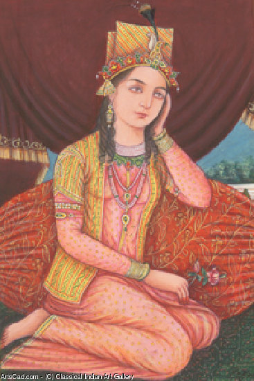 艺术品 >> Classical Indian Art Gallery >> 皇后 NOORJAHAN